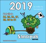 Cartel de Fiestas de Santiyu de Iturriotz de Oiartzun 2019