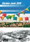 Cartel de las Fiestas de San Juan de Olata de Donostia 2018