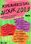 Cartel de Fiestas de Bidebarrieta de Oñati 2019