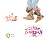 Cartel del Carnaval de Oñati 2020