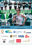 Cartel de la Carrera popular de Torreauzo de Oñati 2019