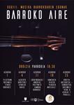 Cartel del ciclo Barroko Aire