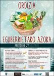Cartel del Mercado Extraordinario de Navidad de Ordizia 2017