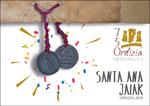 Cartel del Programa Fiestas de Santa Ana de Ordizia 2018