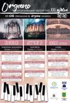 Cartel del Ciclo Internacional de Organo Romántico 2020