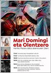 Cartel del Día del Olentzero y Mari Domingi de Orio 2018