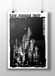 Cartel de las Fiestas de San Juan de Pasaia Donibane 2017