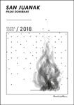 Cartel de las Fiestas de San Juan de Pasaia Donibane 2018