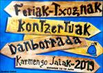 Pasaiako Trintxerpeko Karmen Jaien kartela 2019