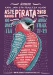 Cartel de la Semana Grande de los Piratas Donostia 2018