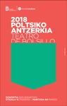 Cartel del Festival de Teatro de Bolsillo de Donostia 2018