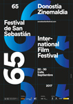 Cartel del Festival Internacional de Cine de Donostia / San Sebastián 2017