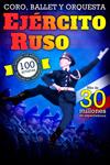 Cartel del espectáculo del Ejército Ruso de San Petersburgo