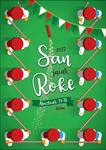 Cartel de las fiestas de San Roque de Deba 2017