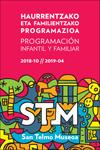 San Telmo Museoaren Haur eta Familientzako Jardueren foiletoa 2018-2019
