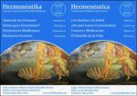 """Imagen 1 de la galería de Hitzaldien Zikloa: """"Hermeneutika"""""""