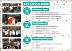 Cartel de las fiestas de de Andra Mari Soraluze 2019