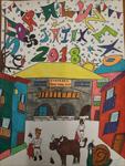 Cartel de las fiestas de Soraluze 2018