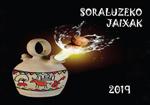 Cartel de Fiestas de Santa Ana de Soraluze 2019