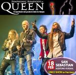 """Cartel del espectáculo """"Symphonic Rhapsody of Queen"""""""