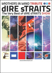 "Cartel del concierto ""The very best of Dire Straits"""