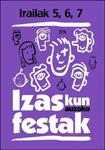 Cartel del Programa de Fiestas del barrio Izaskun de Tolosa 2014