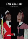 Cartel del Programa de Fiestas de San Juan en Tolosa 2017