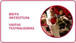 Folleto de las Visitas Guiadas Teatralizadas Para Familias al Topic 2019