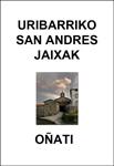 Cartel del Programa de Fiestas de San Andrés de Uribarri