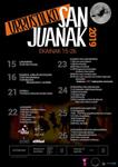 Cartel de las Fiestas de San Juan en Urrestilla 2019