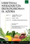 Cartel del Mercado Ecológico de Urretxu 2017