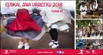 Cartel de la Euskal Jaiak de Urretxu 2018