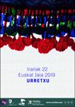 Cartel de la Euskal Jaiak de Urretxu 2019