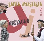 Cartel de las Fiestas de Santa Anastasia de Urretxu 2018