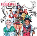 Cartel de las Fiestas de Santa Anastasia de Urretxu 2019