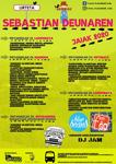 Cartel de Fiestas de San Sebastián en Urteta de Zarautz 2020