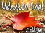Zaldibiako Udazken bizia! egitarauaren kartela 2020