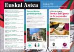Cartel de la Euskal Astea - Euskal Jaiak de Zarautz 2021