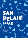 Cartel del Programa Fiestas de San Pelayo de Zarautz 2017