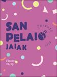 Cartel del Programa Fiestas de San Pelayo de Zarautz 2019