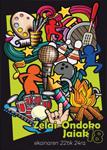 Cartel del Programa Fiestas de San Juan Zelai-Ondo de Zarautz 2018