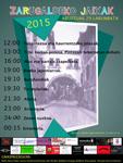 Cartel del Programa Fiestas de Zarugalde de Arrasate 2015