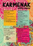 Cartel de Fiestas del Carmen de Arroa Behea de Zestoa 2017