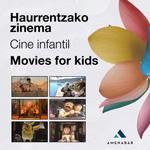 """Cartel de la sección """"Cine Infantil"""" 2020"""