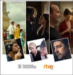 """Cartel de la sección """"Proyecciones RTVE"""" del Zinemaldia 2020"""