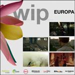 """Cartel de la sección """"WIP Europa"""" del Zinemaldia 2020"""
