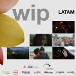 """Cartel de la sección """"WIP Latam"""" del Zinemaldia 2020"""