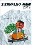 Cartel de las Fiestas de la Virgen de Aranzazu de Elbarrena de Zizurkil 2019