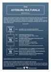 """Cartel del programa """"Asteburu Kulturala"""" de Zizurkil 2020"""