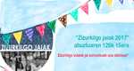 Cartel de Fiestas de Andra Mari de Zizurkil 2017